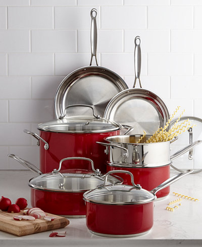 Cuisinart Chef S Classic Stainless Steel Metallic Red 11
