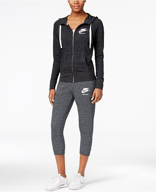 Nike Sportswear Gym Vintage Collection - Women s Brands - Women - Macy s 59e8a9bf16c3