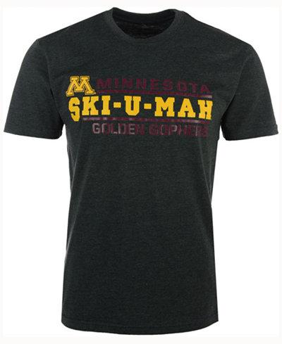 Colosseum Men's Minnesota Golden Gophers Verbiage Stack T-Shirt