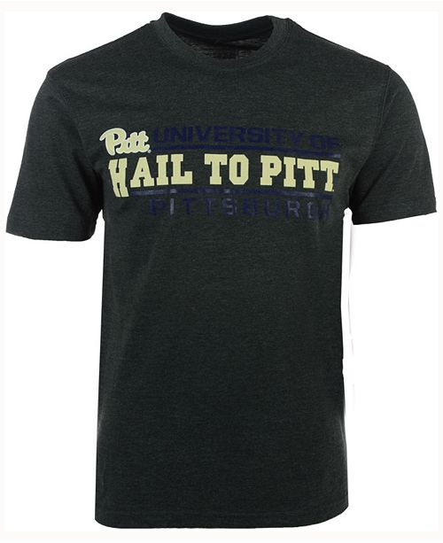 Colosseum Men's Pittsburgh Panthers Verbiage Stack T-Shirt