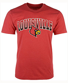 Colosseum Men's Louisville Cardinals Gradient Arch T-Shirt