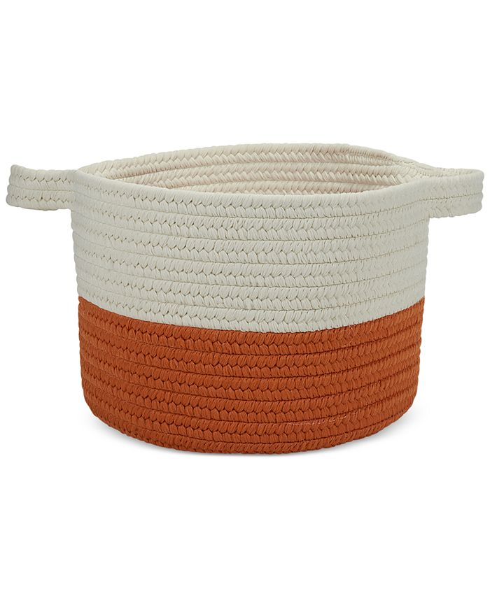 Colonial Mills - Two-Tone Strap Storage Basket
