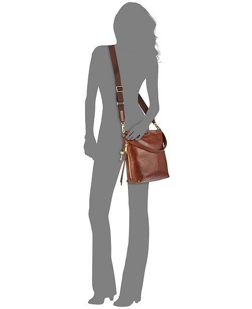 3a05fd87d Fossil Maya Medium Leather Hobo & Reviews - Handbags & Accessories ...