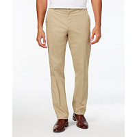 Macys deals on Calvin Klein Men's Regular Fit Cotton Stretch Twill Pants