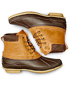 Tommy Hilfiger Men's Casey Waterproof Duck Boots Created for Macy's
