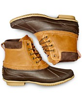 Tommy Hilfiger Men s Casey Waterproof Duck Boots Created for Macy s 68832f58e90