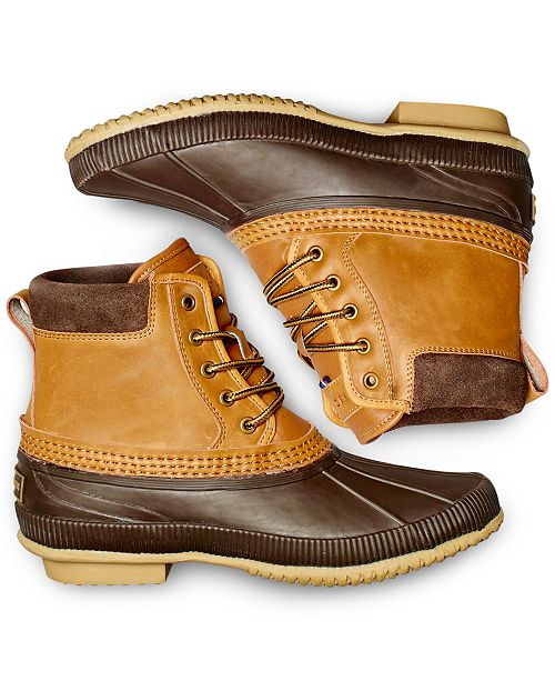b1d6a8985d274d Tommy Hilfiger Men s Casey Waterproof Duck Boots Created for Macy s ...