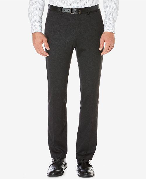 Perry Ellis Men's Slim-Fit Heathered Pants