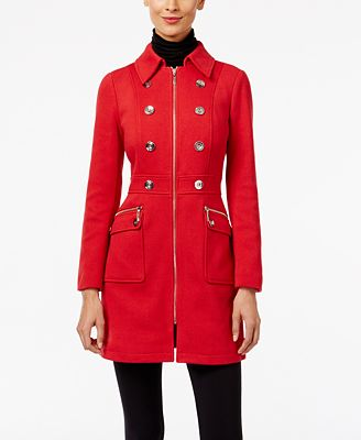 INC International Concepts Ponte Walker Coat, Created for Macy's ...