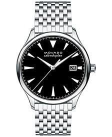 Men's Swiss Heritage Stainless Steel Bracelet Watch 40mm 3650012