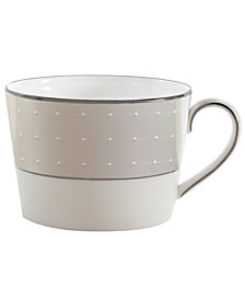 Monique Lhuillier Waterford Dinnerware, Etoile Platinum Teacup