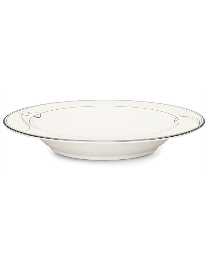 Noritake Dinnerware, Platinum Wave Pasta Bowl