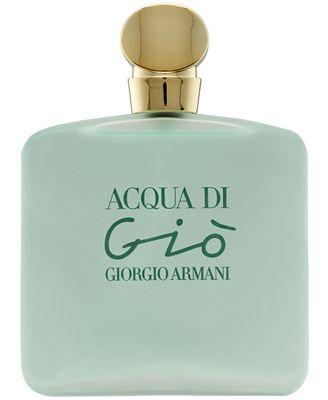 Giorgio Armani Acqua Di Gio For Women Perfume Collection All