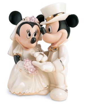 "Lenox Disney's Mickey and Friends ""Minnie's Dream Wedding"" Figurine"