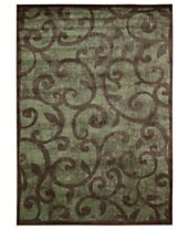 CLOSEOUT! Nourison Rugs, Expressions XP02 Brown
