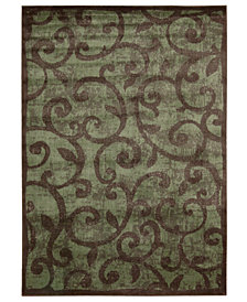 "CLOSEOUT! Nourison Area Rug, Expressions XP02 Brown 3' 6"" x 5' 6"""
