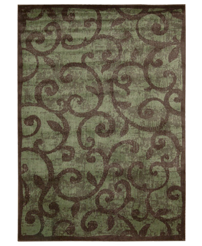 CLOSEOUT! Nourison Area Rug, Expressions XP02 Brown 3' 6