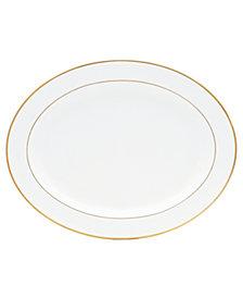 "Bernardaud ""Palmyre"" Oval Platter, 15"""