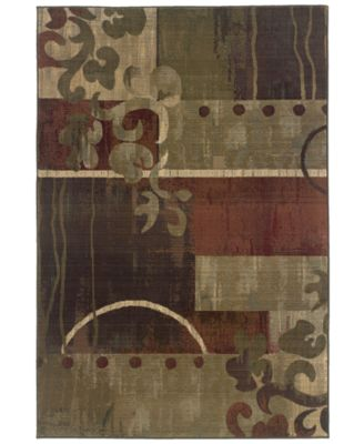"""Area Rug, Generations 8007A Tranquility 6' 7"""" x 9' 1"""""""