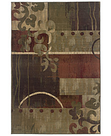 Oriental Weavers Round Area Rug, Generations 8007A Tranquility 6'