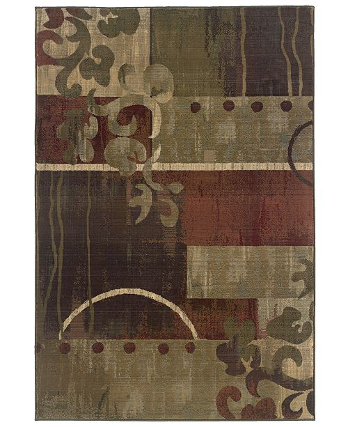 "Oriental Weavers Area Rug, Generations 8007A Tranquility 5' 3"" x 7' 6"""