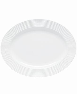 "Dinnerware, Wickford Oval Platter, 16"""