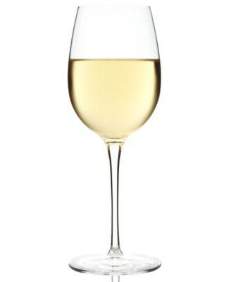 Glassware, Set of 4 Crescendo Chardonnay Glasses