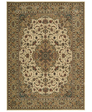 Closeout Area Rug Persian Arts Bd02 Ivory Gold 7 9 X 10