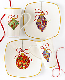 222 Fifth Dinnerware, Paisley Ornaments Collection