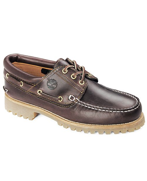 Timberland Men's Traditional Hand-Sewn Moc-Toe Oxfords