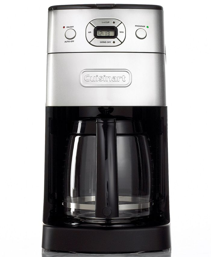 Cuisinart - DGB 625 BC Coffee Maker, Grind and Brew 12 Cup Programmable