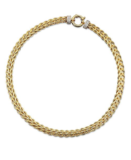d6746aeeedff t.w.)  Macy s 14k Gold Necklace