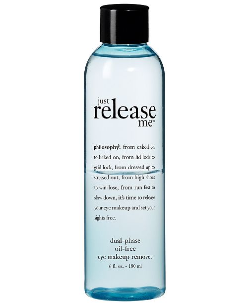 philosophy just release me makeup remover, 6 oz.