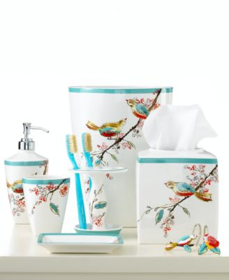 Simply Fine Bath Accessories, Chirp Trash Can