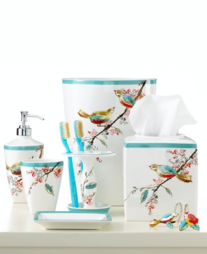Lenox Simply Fine Bath Accessories, Chirp Toothbrush Holder Bedding