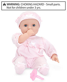 "Melissa and Doug Baby Doll, 12"" Jenna Doll"