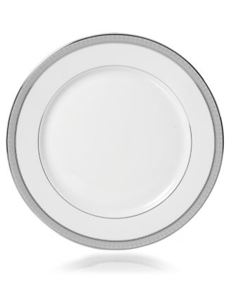 Platinum Crown Dinner Plate