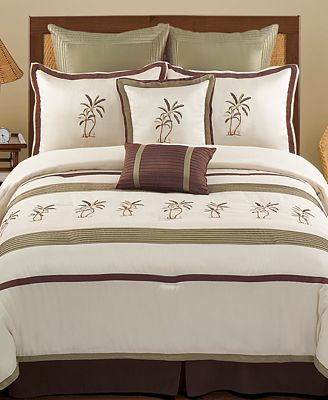 CLOSEOUT! Montego Bay 8 Piece Comforter Sets