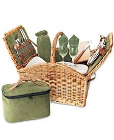 Somerset Green Picnic Basket