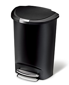 Trash Can, 50L Plastic Step Can