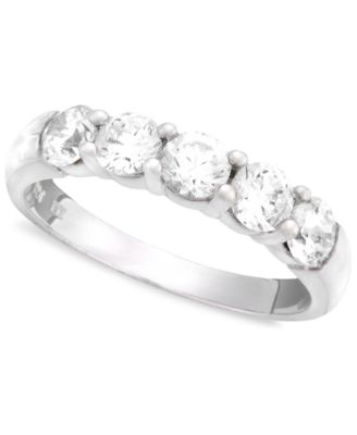 Diamond Band in 14k White Gold (1 ct. t.w.)