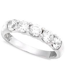 Diamond Band in 14k White Gold (1 ct. t.w.)