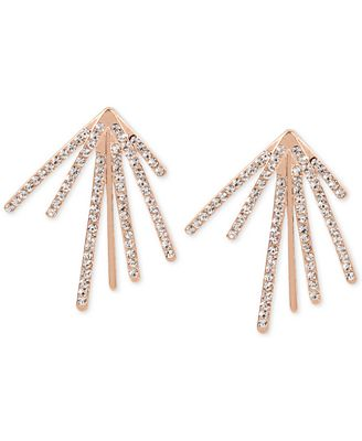M. Haskell for INC International Concepts Pavé Fan Burst Earrings, Only at Macy's