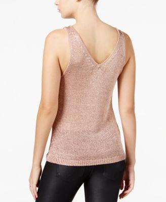 Bar III Metallic Sweater Tank Top, Created For Macyu0027s   Sweaters   Women    Macyu0027s