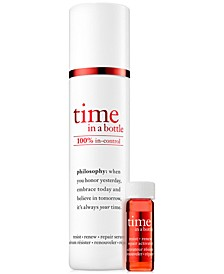 Time In A Bottle 100% In-Control Repair-Renew-Resist Serum, 1.3 oz