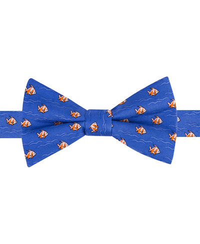Tommy hilfiger men 39 s fish print to tie bow tie ties for Fish bow tie