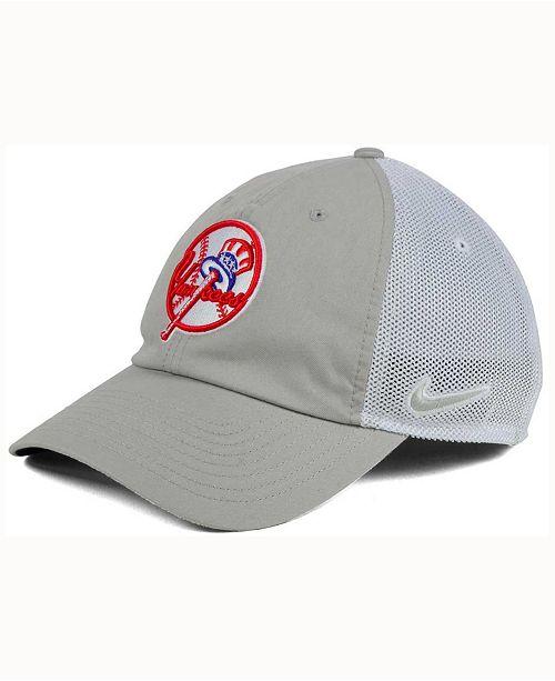 93048adbc1687 Nike New York Yankees Dri-Fit Mesh Swoosh Adjustable Cap   Reviews ...