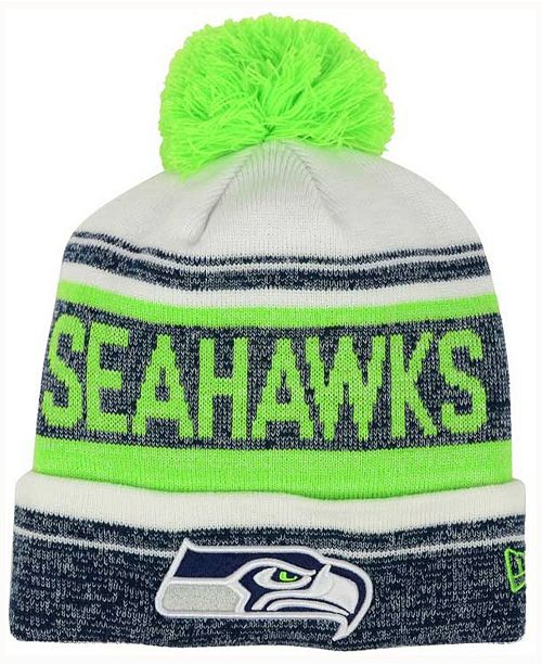18a61eec ... discount code for seattle seahawks snow dayz knit hat created for macys  36bde 4fbdf
