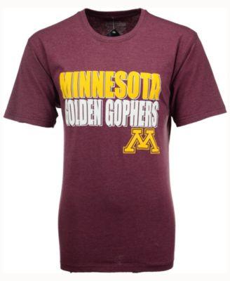 quality design 23fde 9fddd Colosseum Men s Minnesota Golden Gophers Wordmark Stack T-Shirt