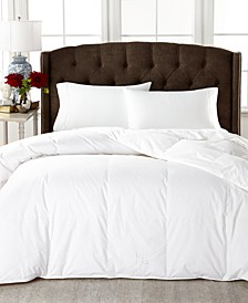 Medium Weight White Down Comforters, 100% Cotton Cover
